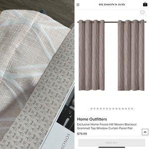 New Blush pink Drapes/Curtains 54x84